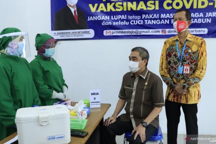 Wakil Wali Kota Darmawan Jaya batal divaksin