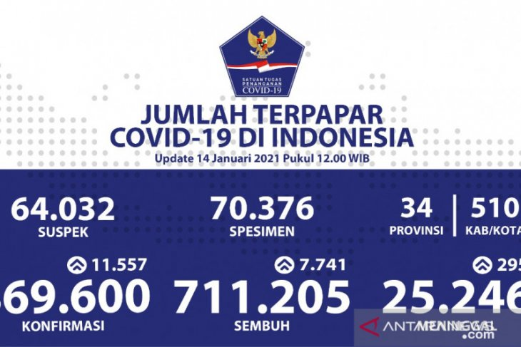 Indonesia's daily COVID-19 count hits record high at 11,557