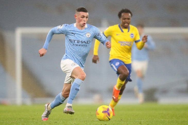 Liga Inggris: Manchester City dekati puncak klasemen usai atasi Brighton 1-0