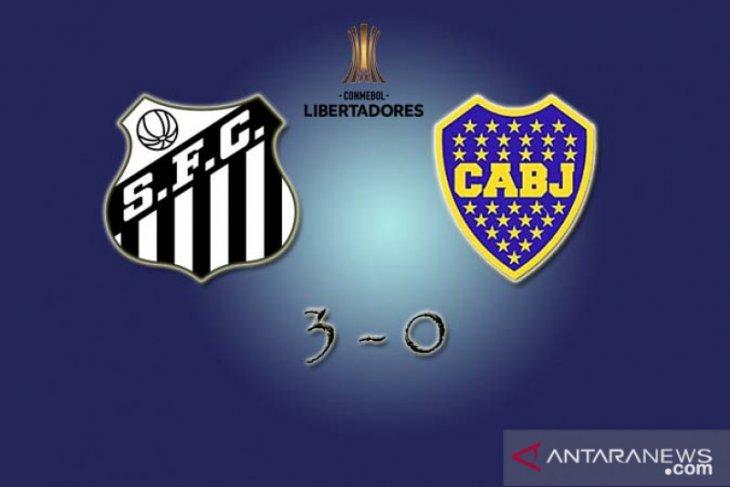 Copa Libertadores, Santos ke final usai taklukkan Boca Juniors 3-0