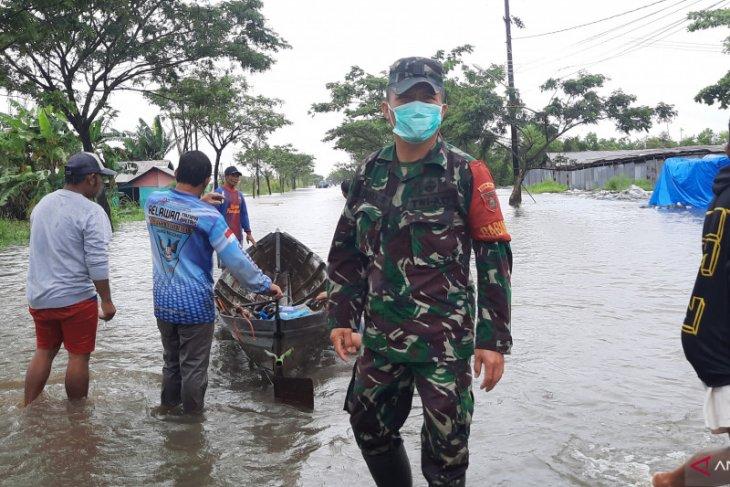 Ratusan rumah di Landasan Ulin Selatan  semakin terendam