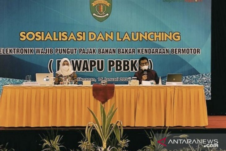 Bapenda kaltim perkenalkan aplikasi E-Wapu PBBKB