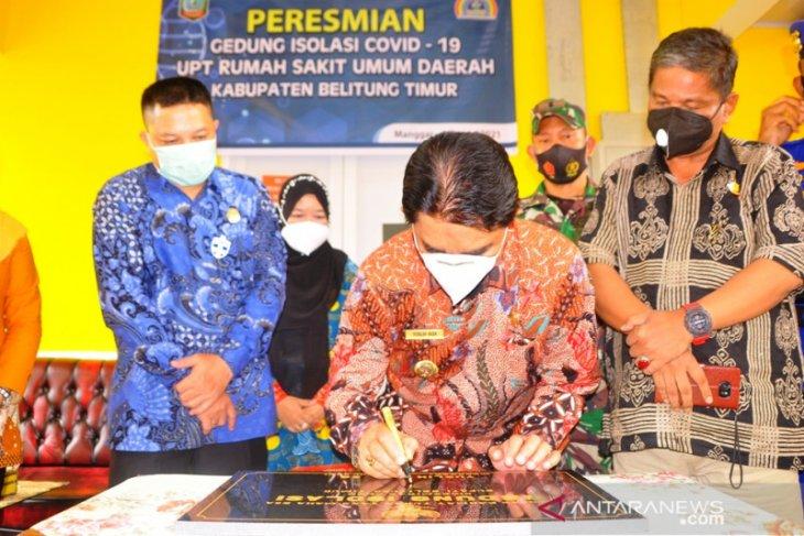 Pemkab Belitung Timur bangun gedung isolasi khusus pasien COVID-19