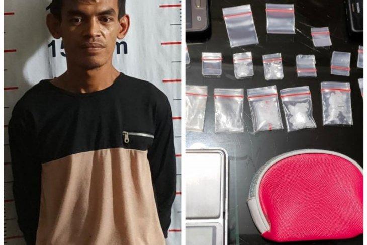 Sahputra nelayan bandar sabu ditangkap Polsek Pangkalan Brandan