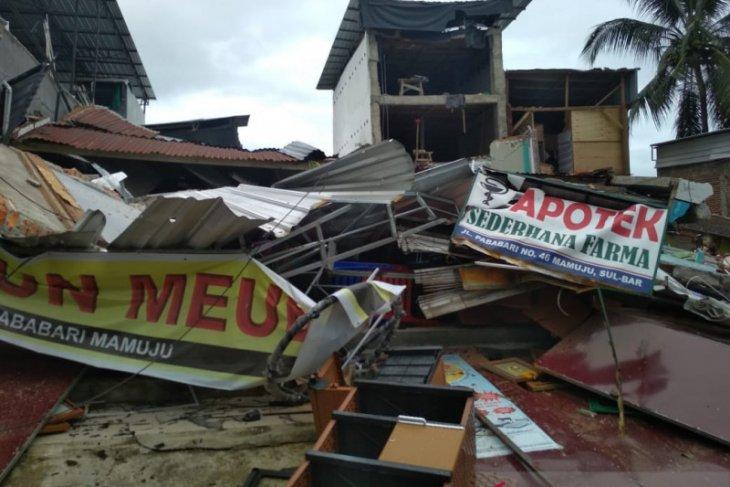 27 orang meninggal akibat gempa bumi di Sulbar