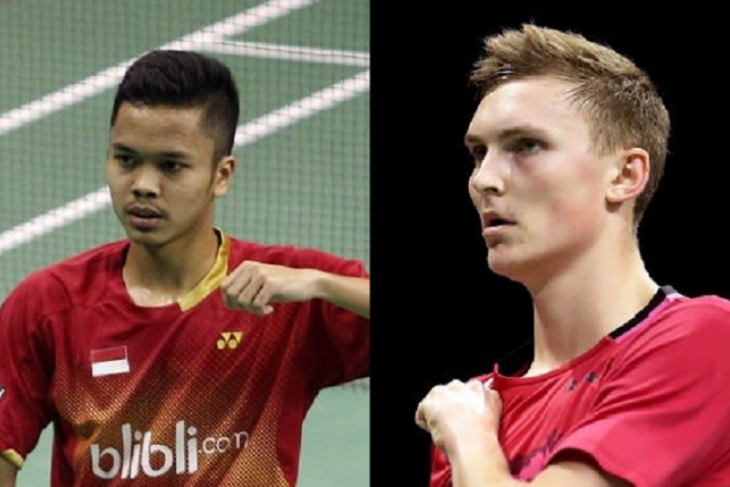 Bulu tangkis - Axelsen lawan Ginting di semi final Thailand Open 2021