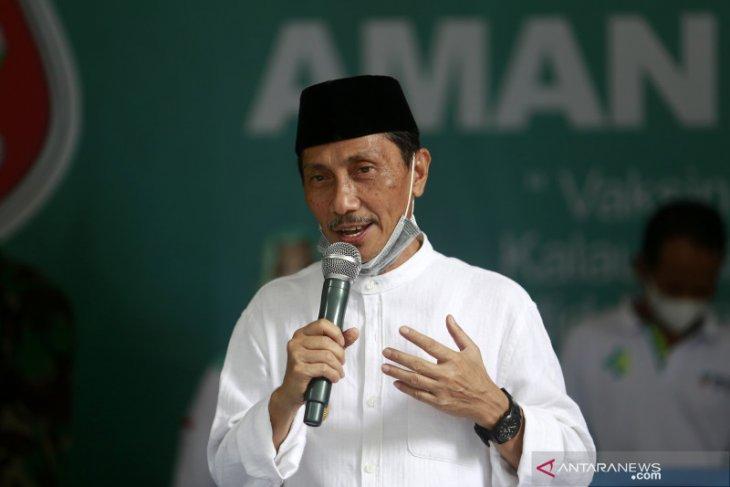 Gula darah naik, vaksinasi COVID-19 untuk Bupati Gorontalo ditunda
