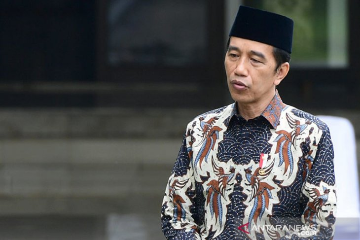 Presiden Jokowi punya hoki bagus di tahun ini