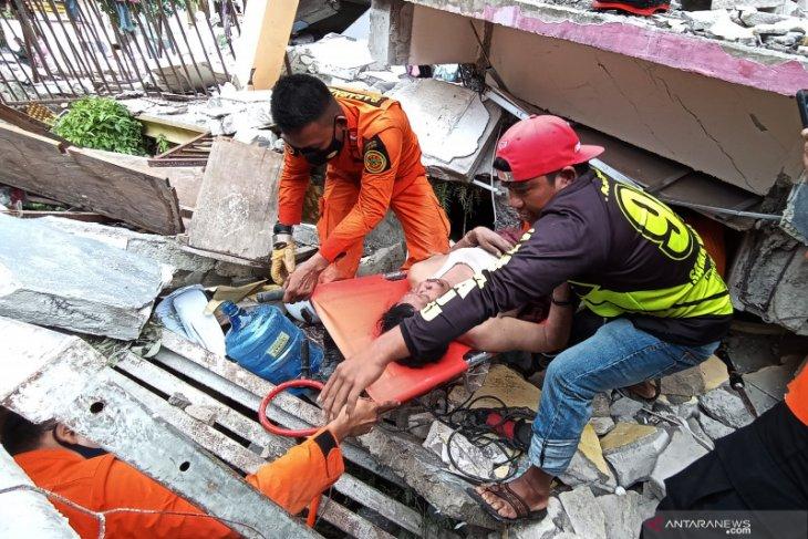 BNPB: 34 orang meninggal akibat gempa di Sulawesi Barat