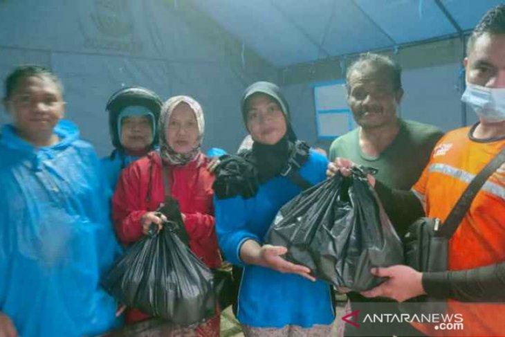 Baznas Tanggap Bencana Belitung salurkan bantuan makanan untuk korban banjir