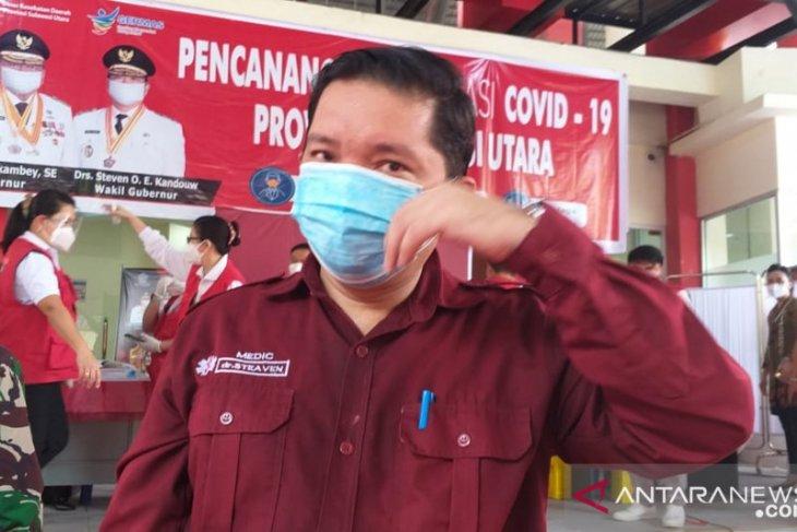 Delapan pejabat publik Sulut tidak divaksin karena kondisi medis