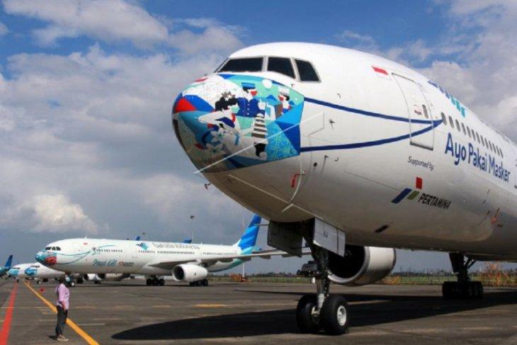 Garuda Indonesia batalkan sejumlah penerbangan rute Jakarta-Gorontalo