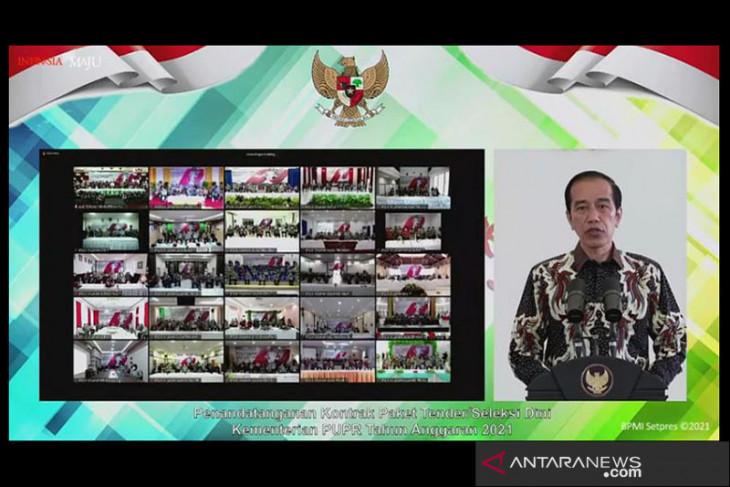 Jokowi: Aliran dana 20 miliar dolar AS ditargetkan segera masuk INA