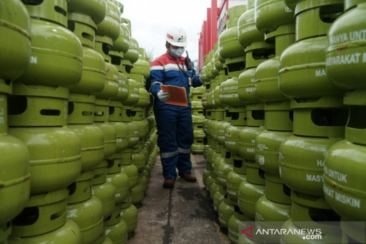 Pertamina guarantees a secure supply of LPG for South Kalimantan