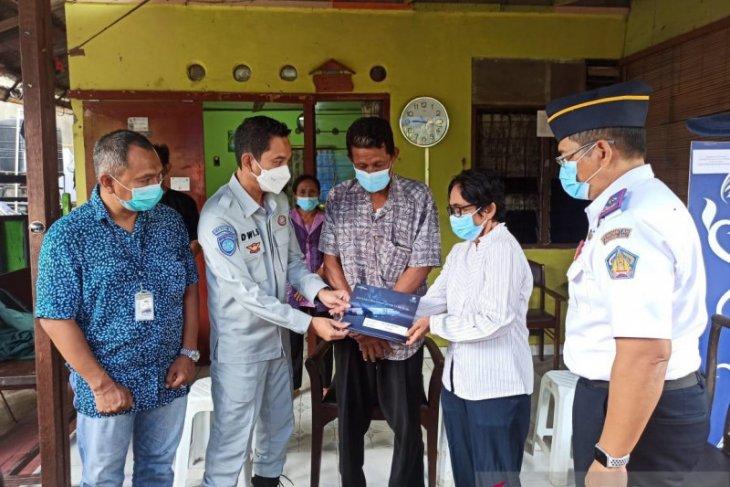 Jasa Raharja Bali santuni ahli waris pramugari Sriwijaya SJ-182