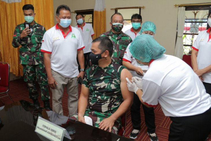 Kadiskes: Vaksinasi COVID-19 di Denpasar tuntas 1,5 bulan