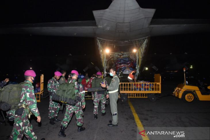 Pesawat TNI AU angkut bantuan logistik bagi banjir di Kalsel