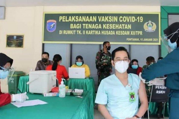 26 tenaga kesehatan Rumah Sakit Kartika Husada terima vaksin