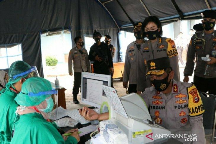 Kapolda: Masih banyak masyarakat Bengkulu langgar prokes
