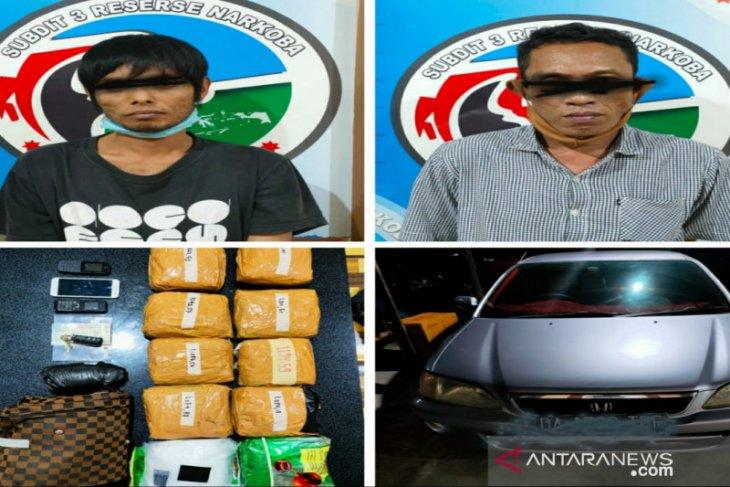 South Kalimantan police seize 11.318 kg of crystal meth