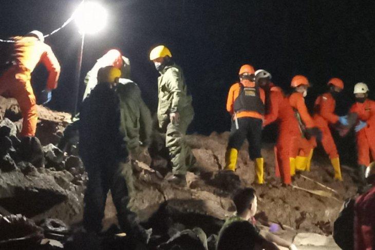 Longsor di Manado tewaskan lima warga