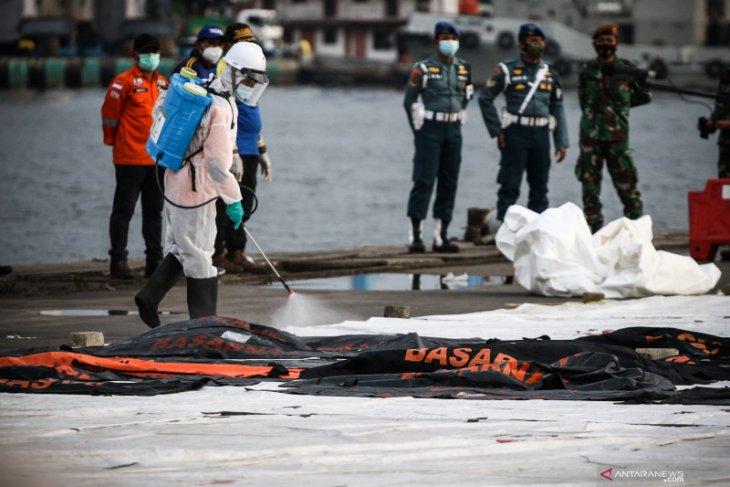 Tim DVI Polri telah terima 188 kantong jenazah SJ-182