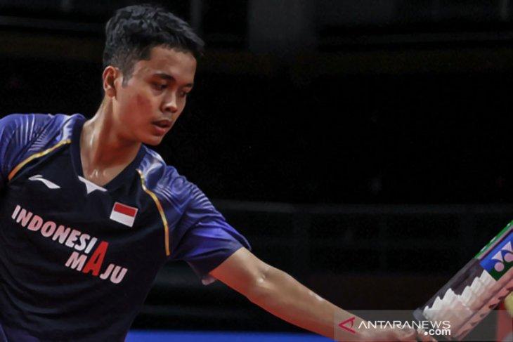 Tunggal putra Indonesia gagal jaga fokus di Thailand Open