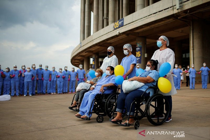 Kasus COVID-19 di Brazil tembus 20 juta