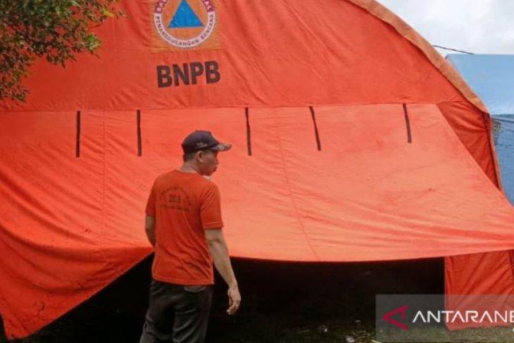 BPBD Jembrana dirikan tenda untuk pengungsi banjir