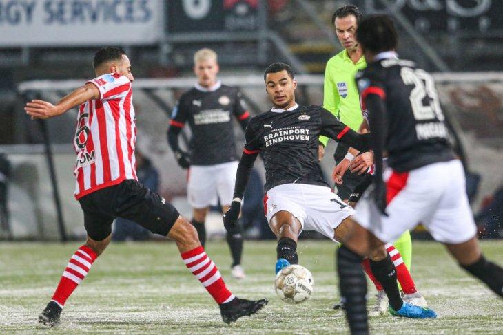 PSV Eindhoven bekuk Sparta Rotterdam  dalam drama delapan gol