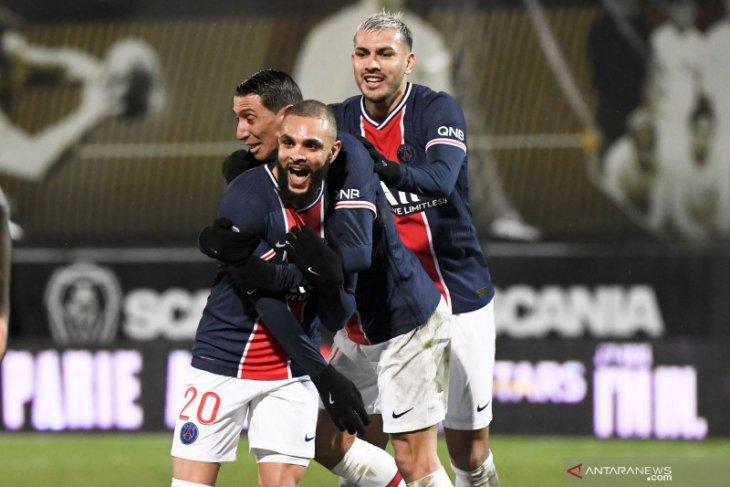 Liga Prancis: Layvin Kurzawa antar PSG ke puncak usai kalahkan Angers