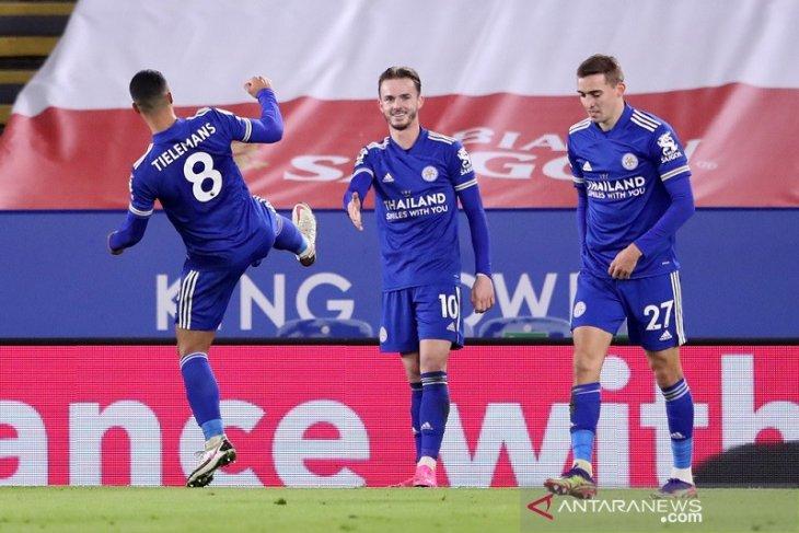 Leicester rebut ke posisi kedua selepas bungkam Southampton