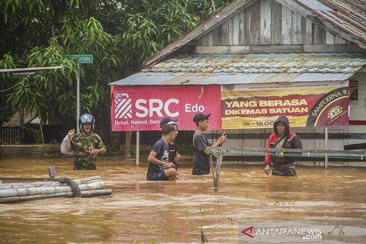 10 Kabupaten/Kota Terdampak Banjir di Kalimantan Selatan