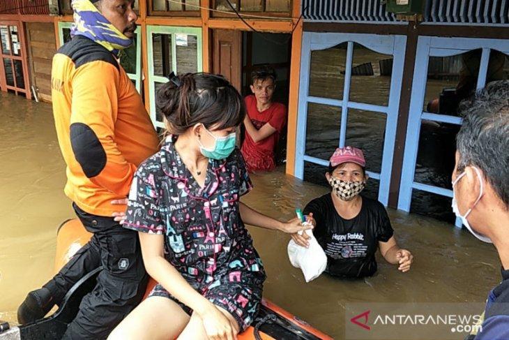 Kabupaten Landak prioritaskan evakuasi korban banjir di sejumlah kecamatan