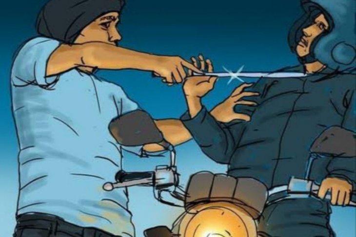 Polisi buru pelaku begal ojek daring di Tugu Tani