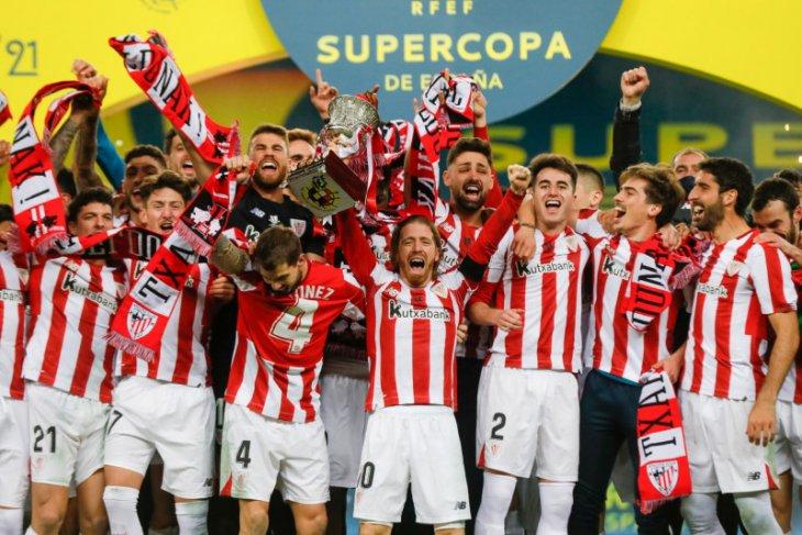 Piala Super Spanyol, Messi di kartu merah saat Bilbao klaim juara
