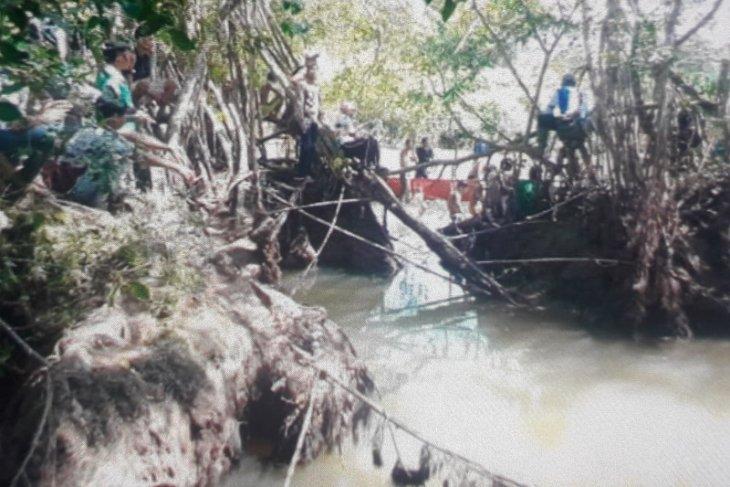 Seorang warga korban diterkam buaya di Pasaman Barat belum ditemukan