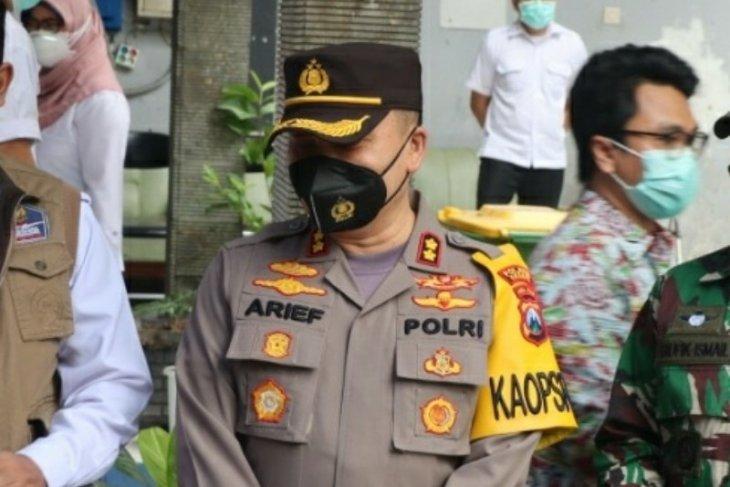 Polisi kejar penyebar hoaks vaksinasi tewaskan Kasdim 0817