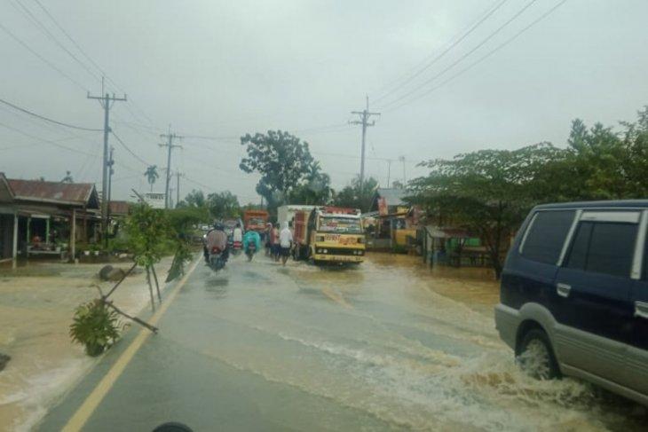 Kecamatan Gebang Langkat dilanda banjir