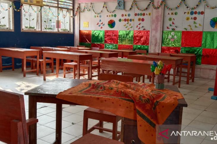 30 persen sekolah Mukomuko masih belajar daring