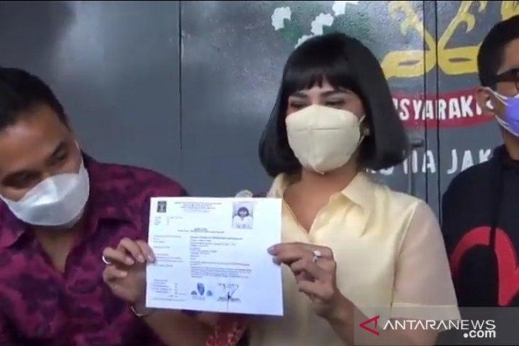 Aktris Vanessa Angel dapat surat keterangan bebas murni