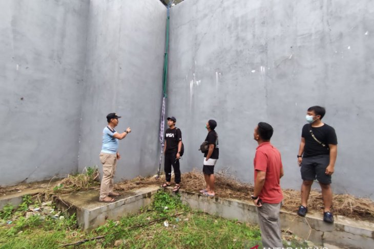 Dua tahanan kabur dengan bantuan tali dan kain sarung untuk panjat benteng penjara