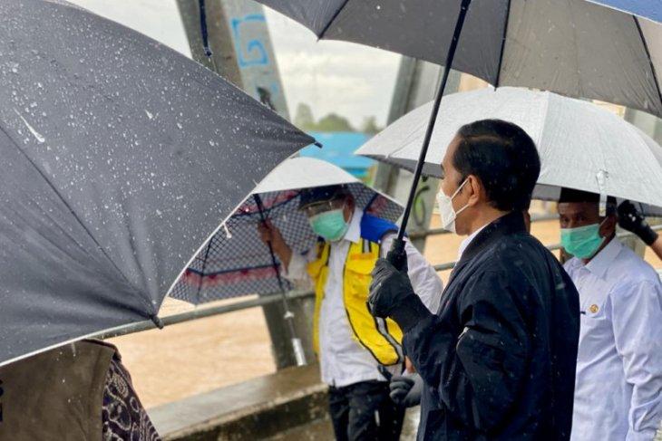 Presiden sebut banjir besar Kalsel jadi yang pertama dalam 50 tahun