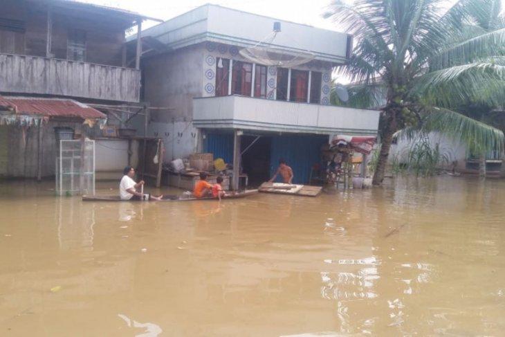 Empat desa di Bonti Sanggau terendam banjir