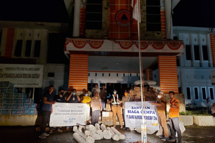 Bank Mandiri salurkan bantuan darurat bagi korban bencana