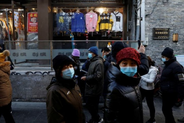 China melaporkan lebih dari 100 kasus COVID-19 baru untuk hari ke-7