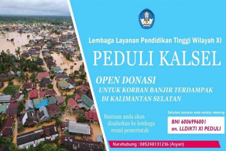 15 PTS di Kalimantan terdampak banjir, Kepala LLDIKTI berharap proses belajar segara normal