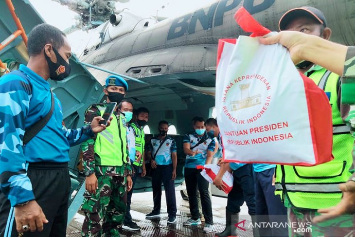 President's aid reaches isolated flood-hit areas