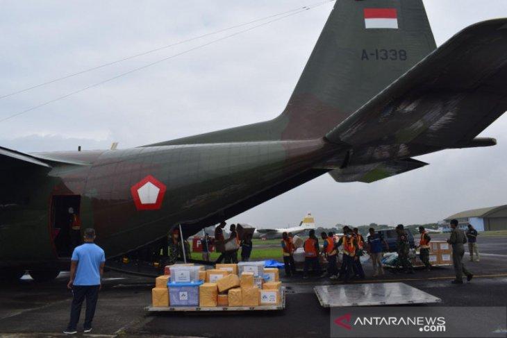 Pesawat TNI AU dikerahkan bantu korban bencana Sulbar dan Kalsel