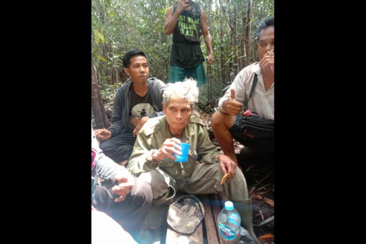 Empati ditemukan selamat setelah seminggu di hutan perbatasan RI-Malaysia
